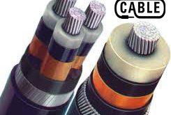 انواع کابل فشار متوسط