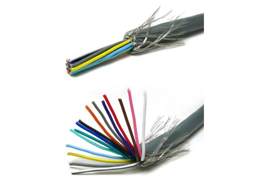 کابل دو رشته شیلد دار
