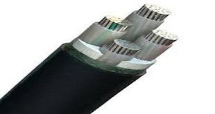کابل سه فاز 35*4 آلومینیومی زمینی